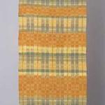 2003 帯地「春の水辺」 (部分) 34×480 絹