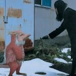 <冬のピャックドラゴン> 194×162cm