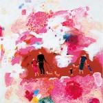 <桜の風>162×130cm