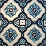 2005 藍染絞綿飾布   230×110
