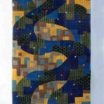 2003 ガンガ.ジャムナ「春」 117×220