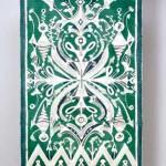 2005 北欧神話  197×113  綿・白刺し子
