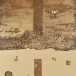 銅(凹)版・手彩色・箔ほか ( 85 x 60.5cm )