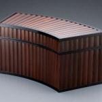 2012 扇形竹張箱 18×40×20