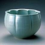 2006 白磁瓜形鉢 18×26×26