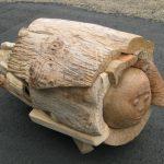 75×80×130cm 木(ケヤキ、サクラ、クリ他)