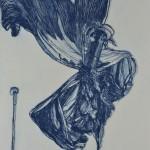 木版リトグラフ (110 x 80cm)