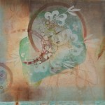 木版 ( 80 x 80cm )