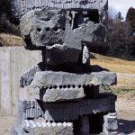 150×105×105cm 黒御影石