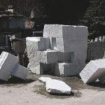 170×350×350cm 白御影石