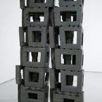 192×115×40cm 黒御影石