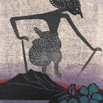 木版画 (60 x 45cm)