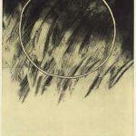 銅版画(120cm X 90cm)