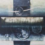 銅版画 (70x80cm)アクアチント