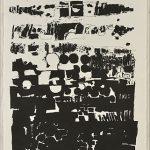 木版 ( 95 x 53cm )