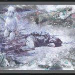 <DEAD OR ALIVE ON THE GROUND> 143.5×205cm