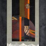 リト&ステンシル(平・孔版) (107 x 80cm)