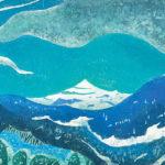 木版(47 x 67cm)