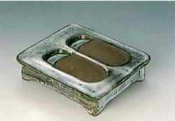 河井寛次郎 「硯」 5×17×19.4cm 1935年 日本民芸館蔵