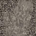 木版 (105 x 100cm)