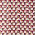 曽根原緑(織) 新準会員 絣布「春が来る」79.0×256.0