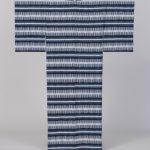 陽山めぐみ(織) 国画賞 手紡木綿絣 穀雨 着物