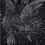 木版128 x 101cm